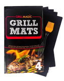 hlm Grill Mat & Pan Liner - Set of 4 - Heavy Duty Non stick BBQ Grilling Mats... - Chickadee Solutions - 1