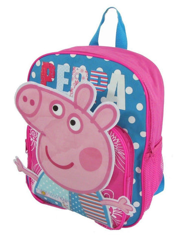 1 X Children Peppa Pig Backpacks Kids Cartoon School Bag Bookbag - Chickadee Solutions