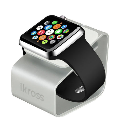 Apple Watch Stand iKross Aluminum Charger Station Dock Cradle Holder Display ... - Chickadee Solutions - 1