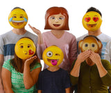 Emoji Universe : Emoji Vacuform Party Masks (Pack of 6) - Chickadee Solutions - 1