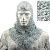 Battle Ready Chain Mail Coif Armor - Chickadee Solutions - 1