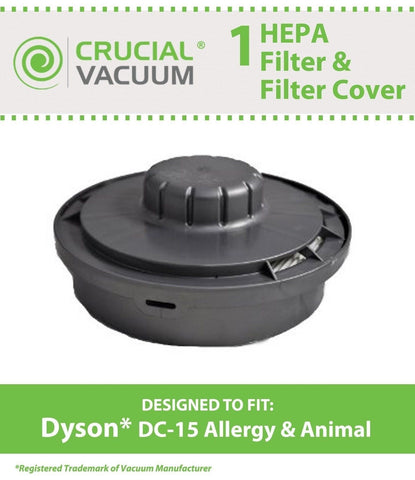 1 Dyson DC15 The Ball Animal Filter & Filter Cover Kit Fits Dyson DC15 Allerg... - Chickadee Solutions - 1