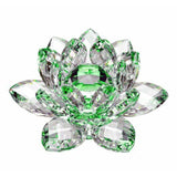 Amlong Crystal High Quality Hue Reflection Crystal Lotus Flower with Gift Box... - Chickadee Solutions - 1