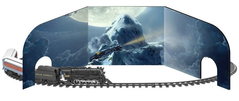Lionel Trains Polar Express 10th Anniversary G-Gauge Diorama - Chickadee Solutions