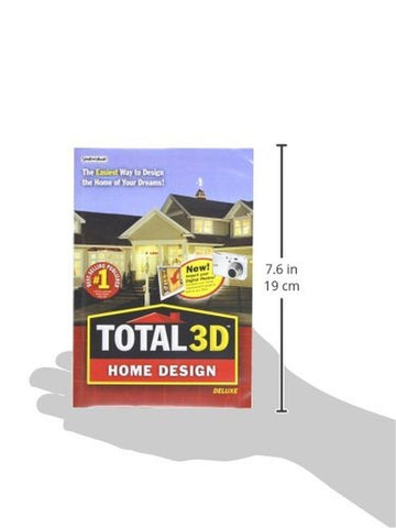 ... Total 3D Home Design Deluxe PC Disc Box   Chickadee Solutions   3