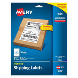 Avery Shipping Labels with TrueBlock Technology Inkjet Printers 5.5 x 8.5 Inc... - Chickadee Solutions - 1