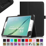 Fintie Samsung Galaxy Tab S2 8.0 Folio Case - Slim Fit Premium Vegan Leather ... - Chickadee Solutions - 1
