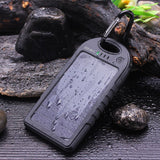 Solar ChargerDizaul 5000mAh Portable Solar Power Bank Waterproof/Shockproof/D... - Chickadee Solutions - 1
