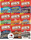 Bigs Sunflower Seed Flavor Variety Pack 9 bags (5.35oz each) with Bonus Magnet - Chickadee Solutions
