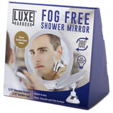 Fogless Shower Mirror - No Fog Adjustable Shaving Mirror- BONUS Razor Holder ... - Chickadee Solutions - 1