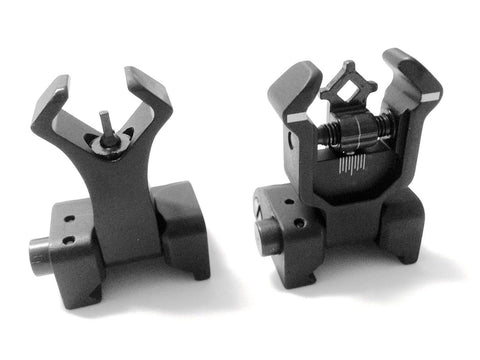 Ar Tactical Flip up Front and Rear Iron Sights Set for Picatinny Rails - Chickadee Solutions - 1