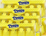 Marshmallow Peeps Yellow Chicks -10 Ct Tray - (Pack of 4) - Chickadee Solutions - 1