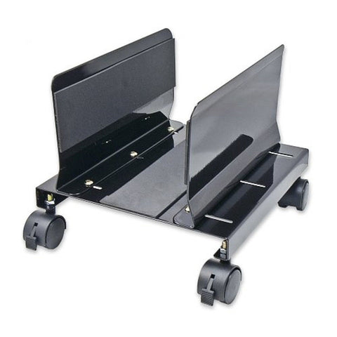 Syba Steel CPU Stand for ATX Case with Adjustable Width and 4 Caster Wheels (... - Chickadee Solutions - 1