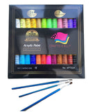 Acrylic paint 24 Set by Crafts 4 All For Papercanvaswoodceramicfabric & craft... - Chickadee Solutions - 1