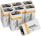 AmazonBasics 9 Volt Everyday Alkaline Batteries (8-Pack) - Chickadee Solutions - 1