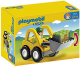 Playmobil 1.2.3 Excavator Standard Packaging - Chickadee Solutions - 1
