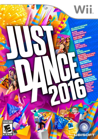 Just Dance 2016 - Wii Ubisoft - Chickadee Solutions - 1
