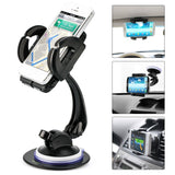 Smartphone Car Mount Holder iKross 4-in-1 Universal Windshield / Dashboard / ... - Chickadee Solutions - 1