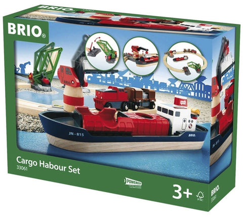 Schylling Brio Cargo Harbor Set - Chickadee Solutions - 1