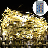 Luoful LED Copper Wire Starry String Lights Waterproof Dimmable with Wireless... - Chickadee Solutions - 1