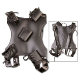 Dual Sword Carrying Back Scabbard Holder Harness Cosplay Costume Anime Martia... - Chickadee Solutions