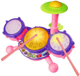 VTech KidiBeats Drum Set - Pink - Online Exclusive - Chickadee Solutions - 1