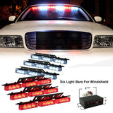 XKTTSUEERCRR 54x LED Ultra Bright Emergency Service Vehicle Dash Deck Warning... - Chickadee Solutions - 1