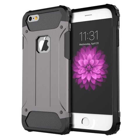 iPhone 6 Case iPhone 6s Case Vomach Silicone Protective Case Armor Defender D... - Chickadee Solutions - 1