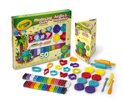 Crayola Modeling Clay Deluxe Kit - Chickadee Solutions