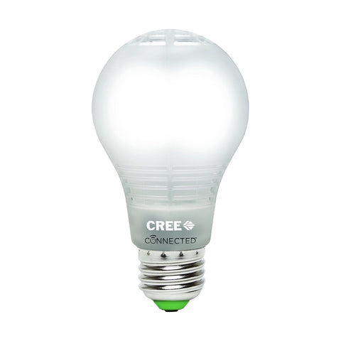 Cree BA19-08050OMF-12CE26-1C110 Connected 60W Equivalent Daylight (5000K) A19... - Chickadee Solutions - 1