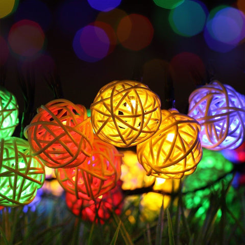Solar String Lights GDEALER 30LED 20ft Solar Powered Starry Fairy Outdoor Str... - Chickadee Solutions - 1