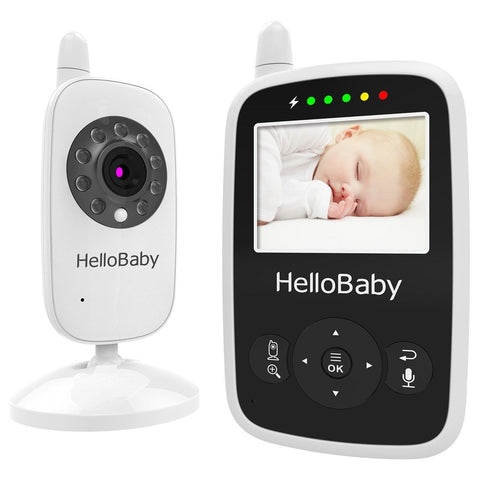 best video baby monitor hellobaby security digital baby videos camera with ni chickadee. Black Bedroom Furniture Sets. Home Design Ideas