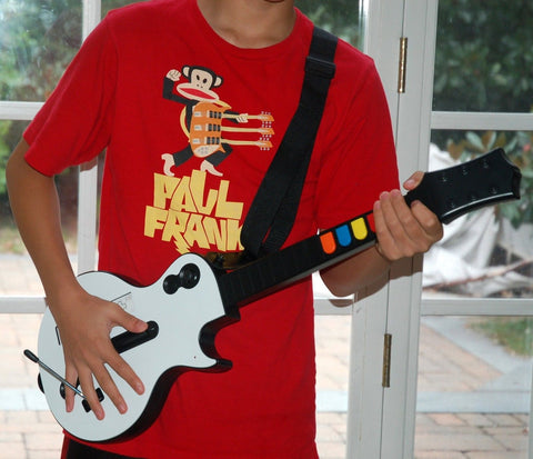 Wireless Guitar For Wii Guitar Hero And Rock Band Games (Excluding Rock  Band
