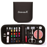 Mini Sewing Kit -DefenderX Sewing Treasure Box for Home Travel Emergency Prem... - Chickadee Solutions - 1