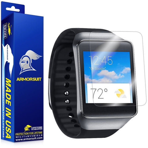 ArmorSuit MilitaryShield - Samsung Galaxy Gear Live Screen Protector Anti-Bub... - Chickadee Solutions - 1