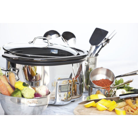 All Clad Sd700450 Programmable Oval Shaped Slow Cooker
