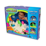 Play Sand Mega Explorer Set - 3 lbs of Glow In The Dark Light Up Sand - With ... - Chickadee Solutions