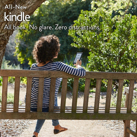 "All-New Kindle E-reader - Black 6"" Glare-Free Touchscreen Display Wi-Fi - In... - Chickadee Solutions - 1"