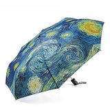 The Original STARRY NIGHT Collapsible Umbrella by MoMA - Chickadee Solutions