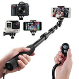 Selfie Stick Arespark Self-portrait Monopod Wireless Bluetooth Selfie Stick W... - Chickadee Solutions - 1