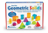 Learning Resources Viewthru Geometric Solids (14Colored) Glossy Exclusive Paper - Chickadee Solutions - 1
