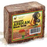 #1 Organic African Black Soap - 1lb (16oz) Best for Acne Treatment Eczema Dry... - Chickadee Solutions - 1