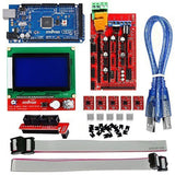 OSOYOO 3D Printer Kit with RAMPS 1.4 Controller + Mega 2560 board + 5pcs A498... - Chickadee Solutions - 1