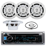 Great New KMR-D365BT Kenwood Marine Boat Yacht Outdoor Bluetooth Stereo CD MP... - Chickadee Solutions - 1