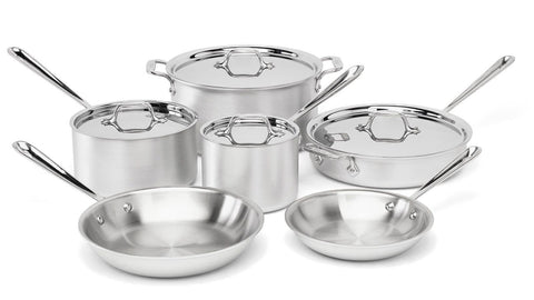 All-Clad 700362 MC2 Professional Master Chef 2 Stainless Steel Tri-Ply Bonded... - Chickadee Solutions - 1