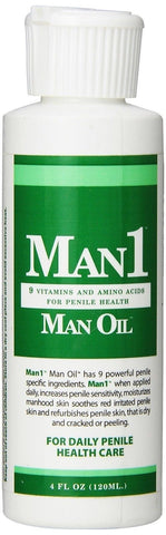 """Man1 Man Oil"" 4 oz.- Natural Penile Health Cream - 3-month Supply - Treat dr... - Chickadee Solutions - 1"