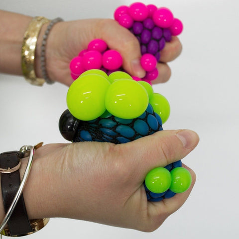 Squishy Mesh Ball Assorted Colors : Squishy Mesh Ball Assorted Colors Chickadee Solutions