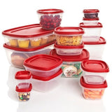 Rubbermaid Plastic Easy Find Lid Food Storage Set 32-Piece 1819226 - Chickadee Solutions - 1