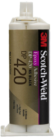 3M Scotch-Weld Epoxy Adhesive DP420 Black 1.25 fl oz (Pack of 1) - Chickadee Solutions