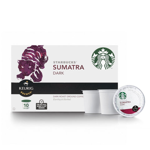 Starbucks Sumatra K-Cup for Keurig Brewers 60 Count - Chickadee Solutions - 1